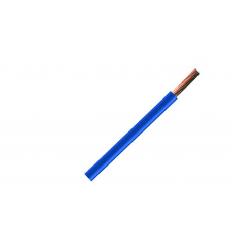 H05V-K / LGY 0,5 przewód jednożyłowy niebieski / 100m