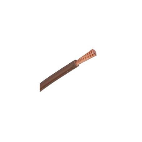 H05V-K / LGY 0,5 przewód jednożyłowy brązowy / 100m
