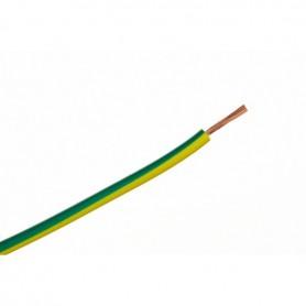 H05V-K / LGY 0,5 przewód jednożyłowy żółto-zielony / 100m