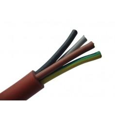 SIHF 4x0,75 Przewód silikonowy linka 500V