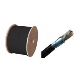 Kabel F/UTP kat.6 drut 4x2x0,57 żelowany ALANTEC